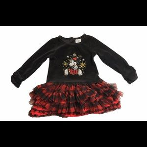 Disney Baby Minnie Mouse Tulle Tutu Holiday Dress